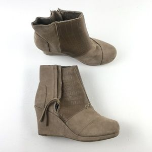 Toms Desert Taupe Wedges F9313822
